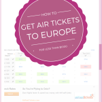 How to get airplanes tickets to Europe for less than $1000
