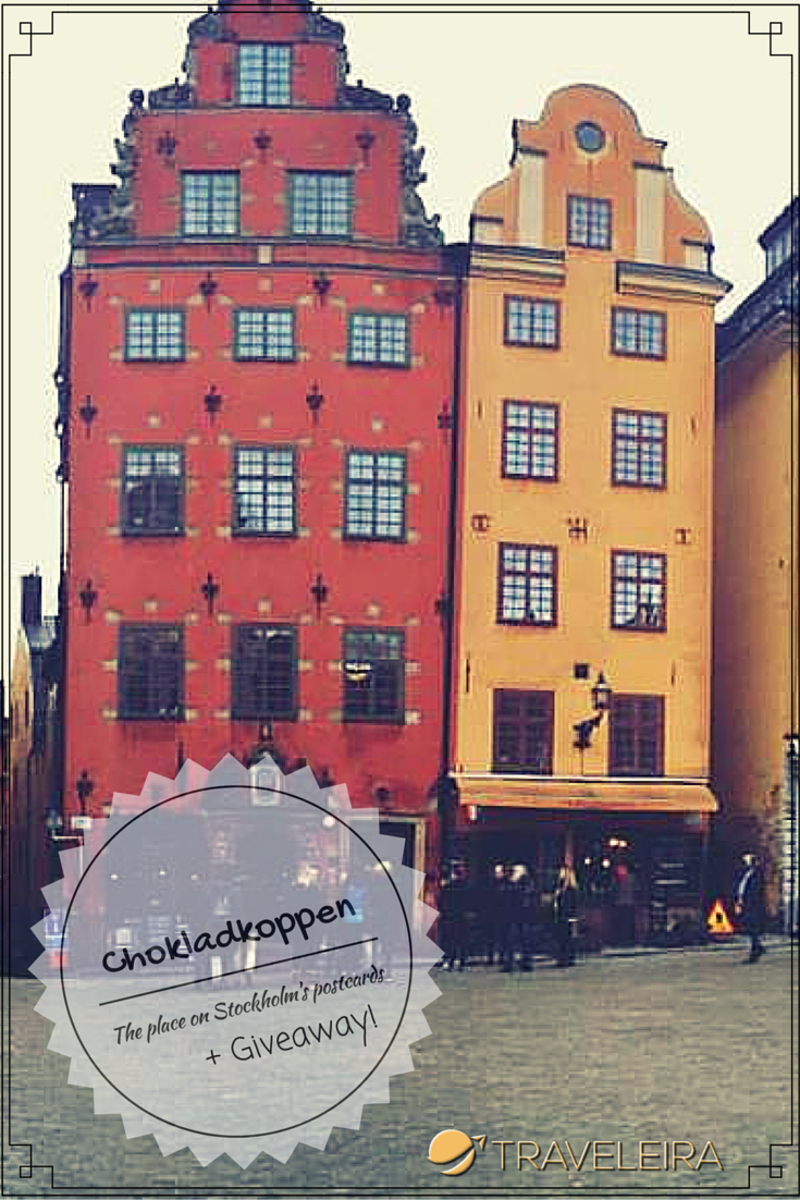 Chokladkoppen: The place on Stockholm's postcards + Giveaway | Traveleira