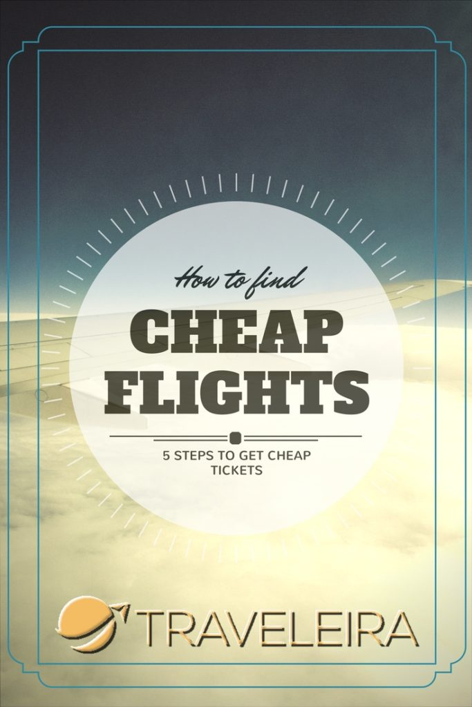 These five steps will help you do a successful cheap flights search