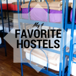 These are my four favorite hostels? Come and check them!