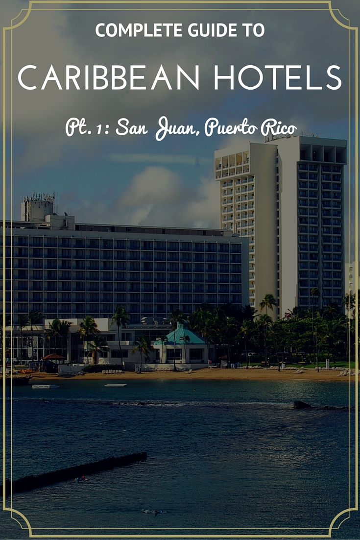 A compilation of hotels close to the landmarks and sightseen in San Juan, Puerto Rico and why you should consider them for your vacations.