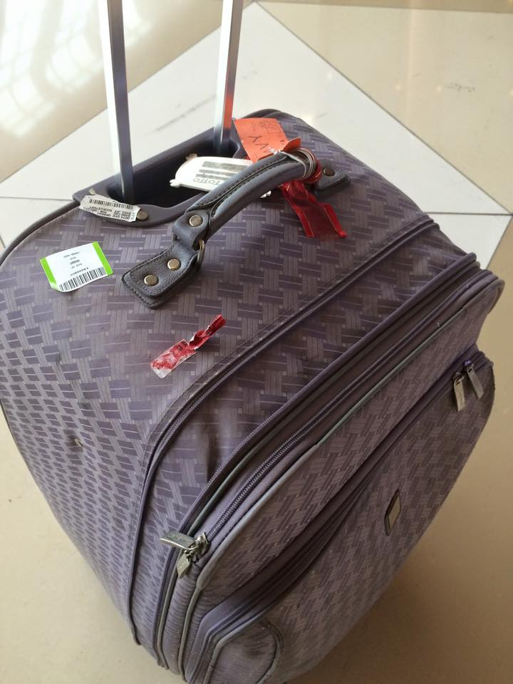 My luggage - Traveleira.com