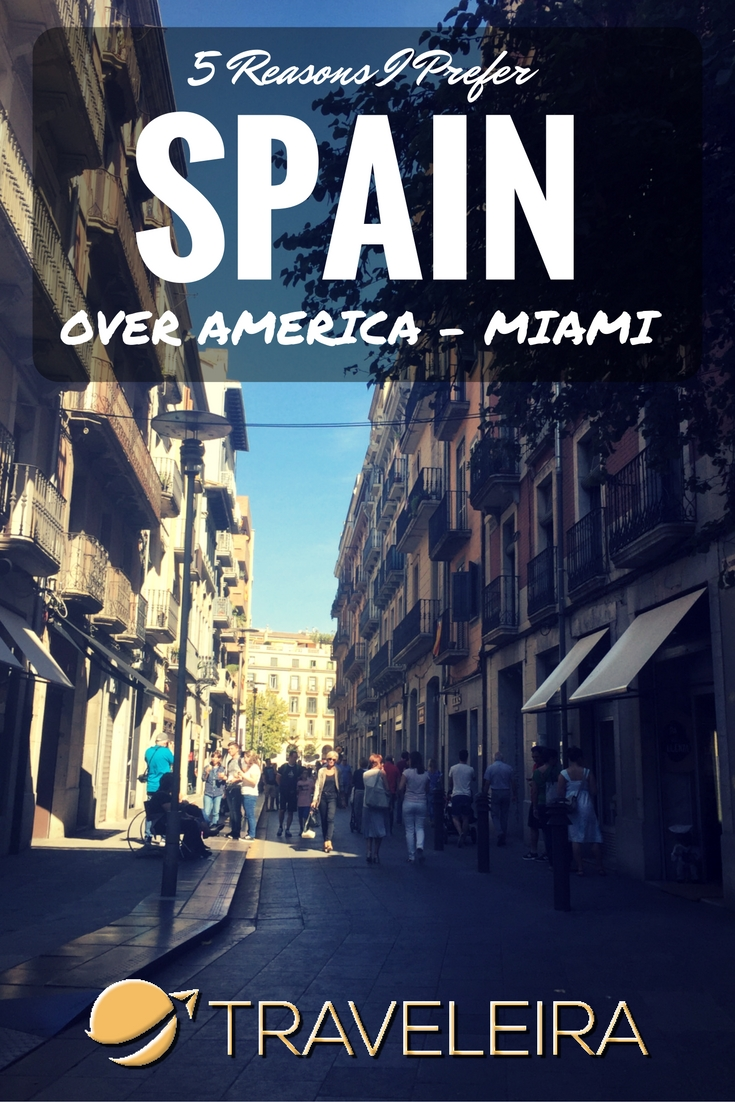 Now that I am a Masters Student in Spain, I decided to compare my experience with the one I had in Miami 6 years ago.
