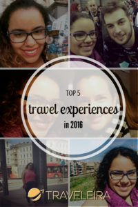 These were my top 5 traveling experiences in 2016.