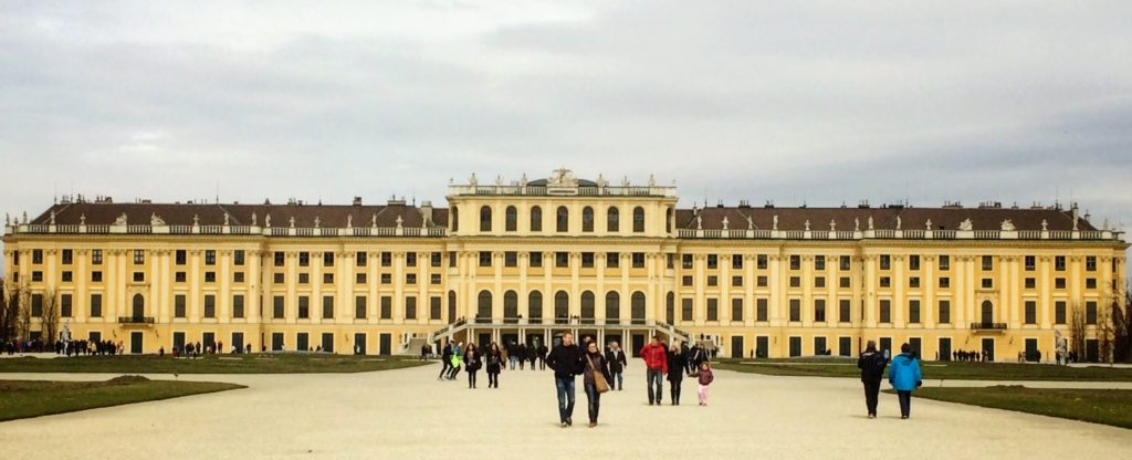 Schloss Schonbrunn - Vienna, Austria - Traveleira.com + Wandereroftheworld.co.uk/