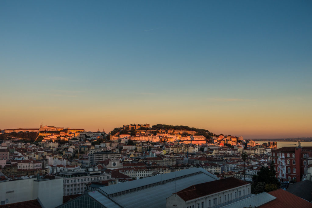 Sunset - Lisbon, Portugal - Traveleira.com + Wandering.World
