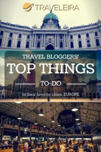 Travel Bloggers tell a little bit on their favorite spots around Europe.