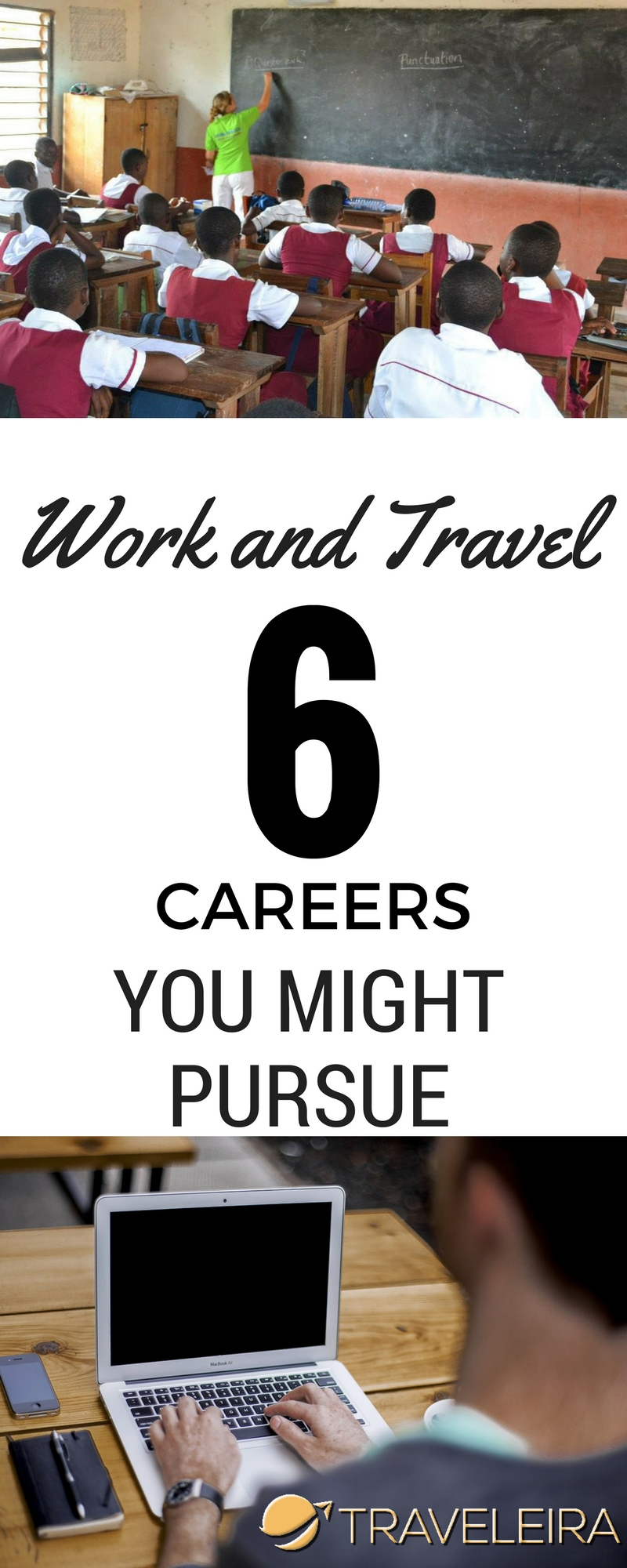 These six careers might help you follow your dream of working and traveling abroad.