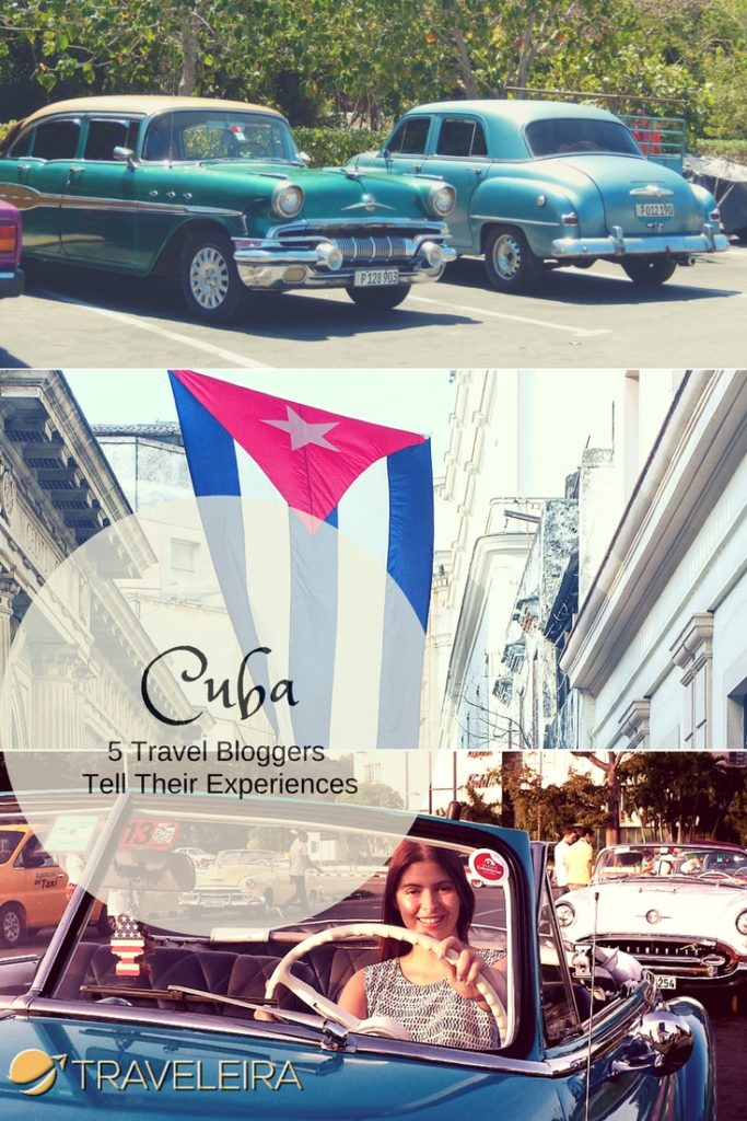 Since Cuba is becoming a popular destination, we asked different travel bloggers about their experience in the island.