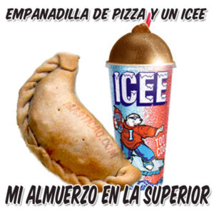 Empanadilla de Pizza + Icee