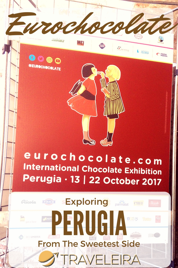 Eurochocolate is a Chocolate Festival that takes place every year in Perugia, Italy. These are some of the highlights of my visit.