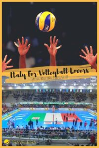 Have you wondered how to explore Italy watching the best volleyball league in the world? Here some tips including a map to plan your route.