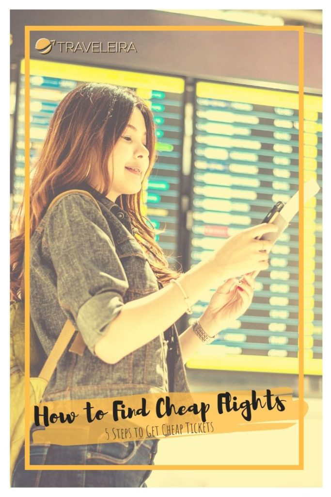 Ever wonder how to find cheap flights? These five steps will help you do a successful cheap flights search